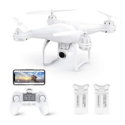 GPS Drone With 1080P HD Camera amp; 2 Batteries RC FPV Quadcopter WiFi Live Video $199.99