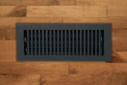 Madelyn Carter™ Black Contemporary Floor Wall Vent Covers Cast Aluminum $28.59