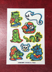 Vintage Mark 1 Scratch And Sniff Skin Tattoos Lite Scent 1984 $1.25