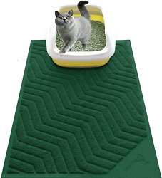 XL Large Cat Litter Box Mat Pad Pet Kitty Clean Easy Cleaning Floor Protecter $23.43