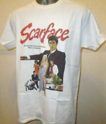 SCARFACE RETRO MOVIE T SHIRT FUNNY VINTAGE FOR MEN WOMEN S TO 3XL $20.99