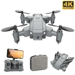 Mini Drone With 4K Camera Full HD Foldable Drones Quadcopter One Key Return $37.00