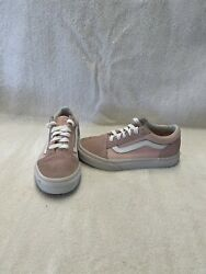 Vans Off The Wall Girls Pink white Shoes size 13 C $18.00