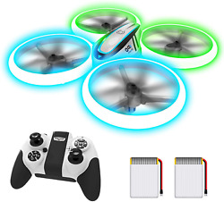 Q9S Drones For Kids Rc Drone With Altitude Hold And Headless White $54.99