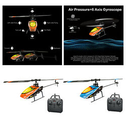 RC Helicopters Remote Control Helicopter with Gyro 4 Channel Alloy Mini $53.74
