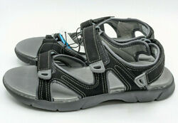 Khombu Ladies Women#x27;s Evelyn Outdoor Black Hiking Sandals Pick your Size $17.99