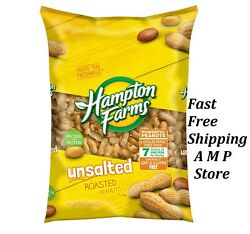 Hampton Farms Unsalted In Shell Peanuts 5 lbs. Free Shipping $7.56