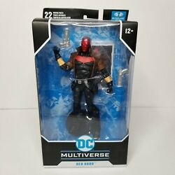 McFarlane Toys DC Multiverse Red Hood New 52 7quot; Action Figure Damaged Box Sale $47.88