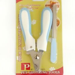 Dog Nail Clippers Professional Heavy Duty Safety Guard Pet Nail Clippers NEW $10.99