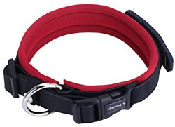 IDOOLS Dog Collars Personalized Genuine Leather Ultra Soft Neoprene Padded with $11.58