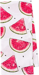KAF Home Pantry Watermelon Slices All Over Kitchen Dish Towel Set of 4 100 Perc $18.99