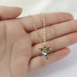 Fashion Unique Hummingbird Crystal Pendant Necklace Women Party Jewelry Gifts C $1.70