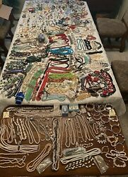 HUGE Lot of Vintage amp; Modern Costume amp; Fashion Jewelry Approx. 35 lbs $275.00