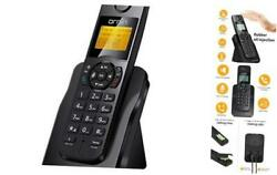 D1005 Cordless Desk Telephone for Home and Office Use ECO Single Pack Black $45.85