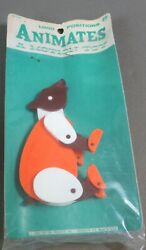 Vintage 1964 Animates jointed plastic BEAR figure by Payton Products MIP Toy $49.99