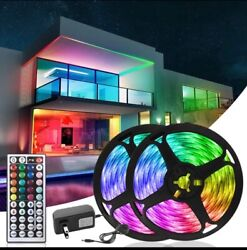 LED Lights for Wall Bedroom Night Light Kitchen with 44Key IR Controller $12.99