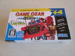 SEGA Game Gear Micro with 4 Titles RED Brand New amp; Sealed. Japan Import. $47.00