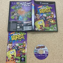 Nickelodeon Party Blast Nintendo GameCube 2002 Complete Tested amp; Working $19.00