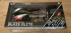 *NEW* BLAZE ELITE REMOTE CONTROL LEVITATING FLYING HELICOPTER TOY LANDING PAD $18.90