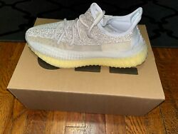 Yeezy Boost 350 V2 Natural Mens Size 9.5 FZ5246 ABEZ DS FREE SHIPPING $350.00