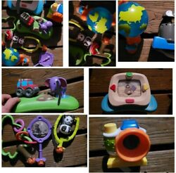 Evenflo World Explorer Exersaucer Activity Toy Replacement Parts Lot of 8 Toys $39.99