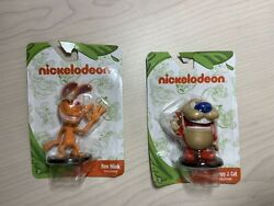 Nickelodeon Ren amp; Stimpy PVC Figurines Figures Cake Toppers Set NEW $5.99