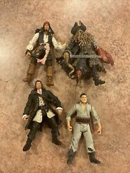 pirates of the caribbean action figures lot Of 4 $12.00
