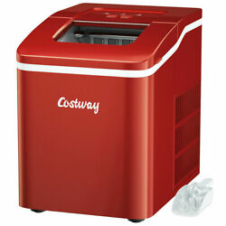 Portable Ice Maker Machine Countertop 26Lbs 24H Self cleaning w Scoop Hot $60.79