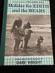 Holiday for Edith and the Bears Dare Wright Vintage $19.99