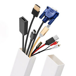 Cable Concealer on Wall TV Wire Raceway Cord Cover Home amp; Office Wire Management $16.97