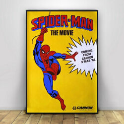 Spiderman Vintage Movie Poster Wall Painting Retro Poster Prints Wall Art Home $14.99