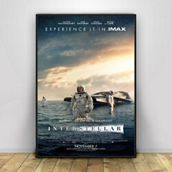Interstellar Movie Poster Wall Painting Home Decor Poster Prints Wall Art Home $9.99