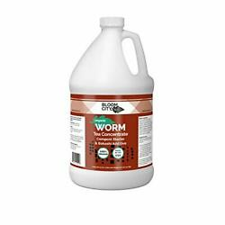 128oz Organic Earthworm Tea Concentrate Compost Bokashi Booster by Bloom City $53.28