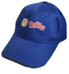 LAYS RUFFLES POTATO CHIPS NOVELTY BLUE BASEBALL CAP WE KNOW BBQ RED HOT SMOKERS $11.95
