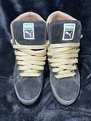 RARE Used PUMA Suede Mid Gold SIZE 7.5 *SEND OFFERS* $20.00