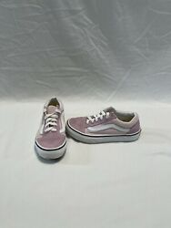 Vans Off The Wall Girls Pink white Shoes size 1.5 Y $18.00