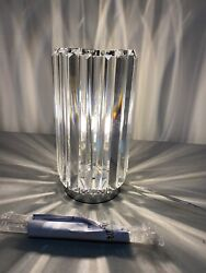 New Caledan 10 1 2quot; High Crystal Accent Table Lamp From Lamps Plus W o Box $41.99