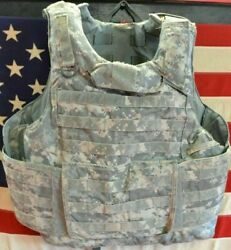 ARMY ACU DIGITAL PLATE CARRIER SIZE LARGE WITH KEVLAR INSERTS 8470 01 551 7706 $239.99