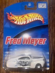 HOT WHEELS FRED MEYER TAIL DRAGGER WHITE $2.10