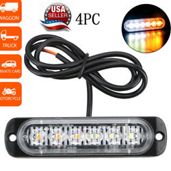 Car LED Police Strobe Hazard Flash Light with Power off Memory Function USA $15.79