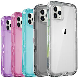 Shockproof Case For iPhone 12 11 Pro Max Xr Xs 6 6s 8 7 Plus SE Heavy Duty Cover $9.95