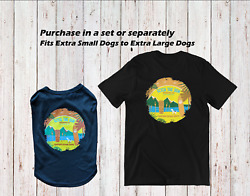 Matching Dog and Owner Shirt Set Gift for Pet Lover Unisex Craft Beer $9.60
