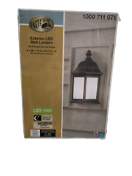 Hampton Bay Wall Mounted Outdoor Oil Rubbed Bronze LED Wall Lantern IMS1691L $42.49