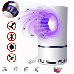Electric UV Mosquito Killer Lamp Outdoor Indoor Fly Bug Insect Zapper Trap USB $12.99
