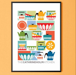Cathrineholm Colorful Kitchen Art Poster Home Wall Decor Poster No Frame $19.80
