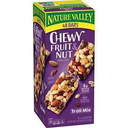 Nature Valley Chewy Trail Mix Fruit amp; Nut Granola Bars 48 ct. $17.09