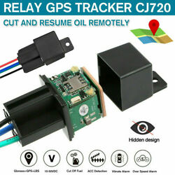 GPS Car Tracker Real Time Device Locator Remote Control Anti theft Hidden 10 40V $19.98