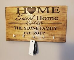 Key Hangers for Wall Personalized Text Option House Warming Present $30.00