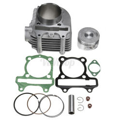 Motorcycle Big Bore Cylinder Head Piston Gasket Rebuild Kit For GY6 150CC 200CC $39.99