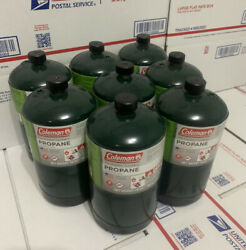 8 PACK Coleman Propane Fuel . FREE amp; Fast SHIPPING 📦✅ 🔥🔥 $79.98